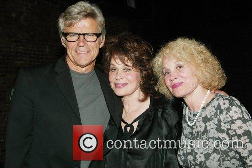 Director Ernest Thompson poses with writer and star...