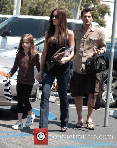 Kate Beckinsale, daughter Lily Mo Sheen and husband...