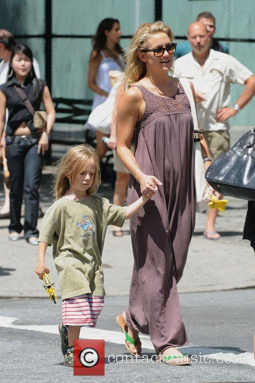 Kate Hudson takes her son Ryder Robinson to...