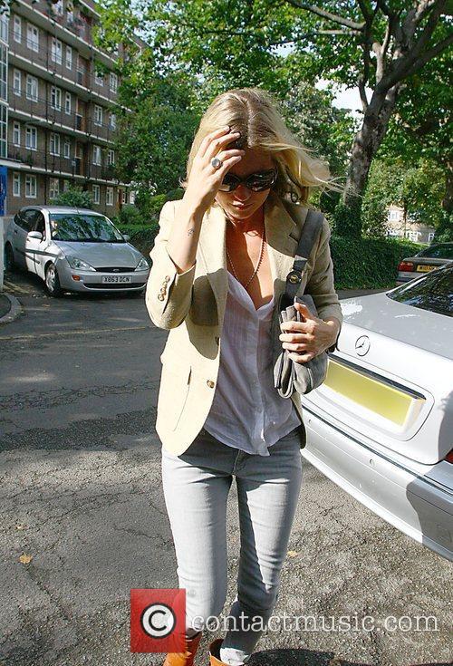 Kate Moss returns home  London, England