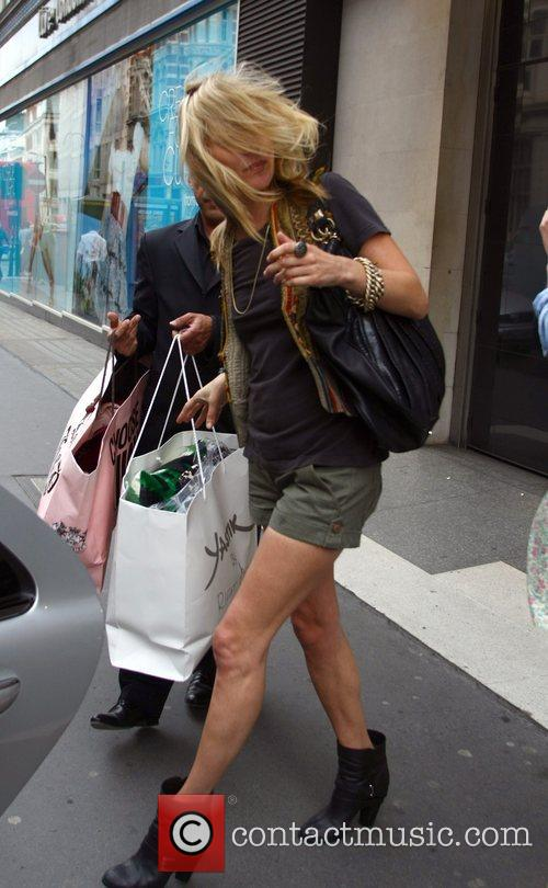 Kate Moss stops off for a Lebanese kebab...