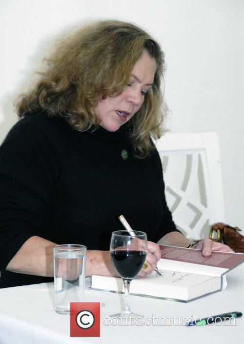 Kathleen Turner at Guardian Hay Festival 2008 Powys,...