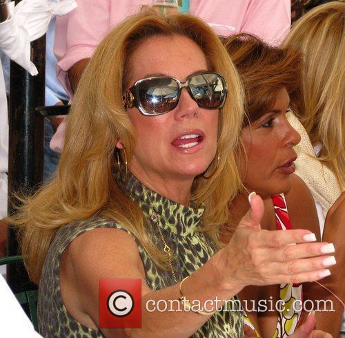Kathy Lee Gifford shoots a segment of NBC's...