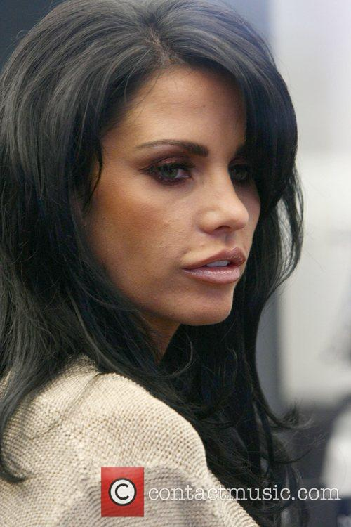 Katie Price AKA Jordan out shopping in Central...