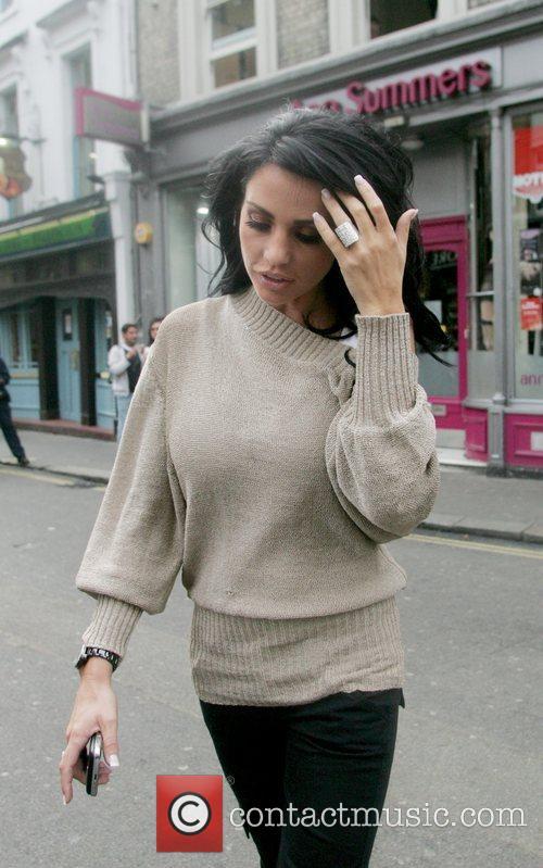 Katie Price AKA Jordan shops at Ann Summers...