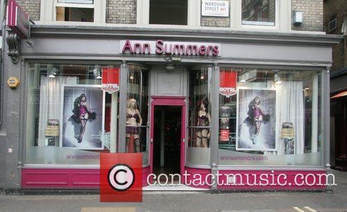 Katie Price AKA Jordan shops at the Ann...
