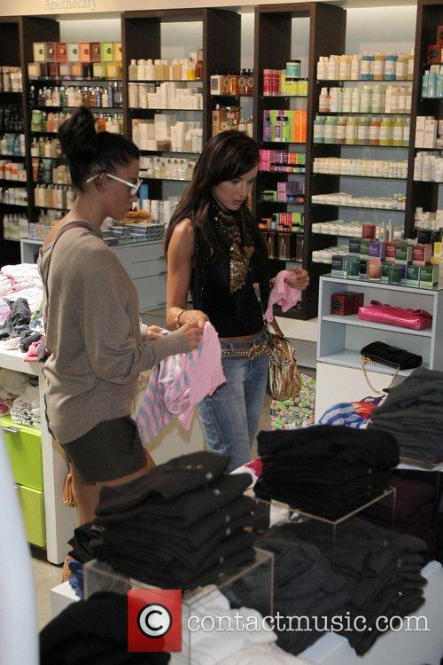 katie price (aka jordan) goes shopping at kitson boutique on robertson blvd a day after being released from the hospital following cosmetic surgery 5174566