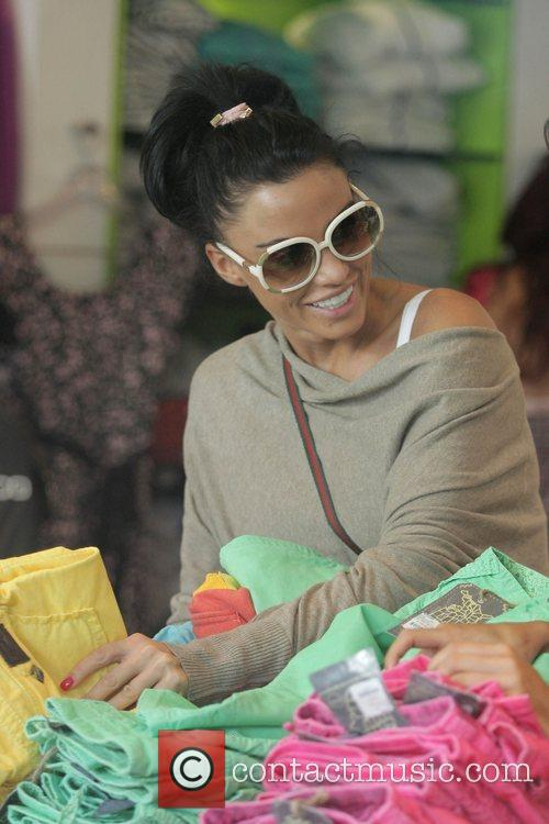 katie price (aka jordan) goes shopping at kitson boutique on robertson blvd a day after being released from the hospital following cosmetic surgery 5174588