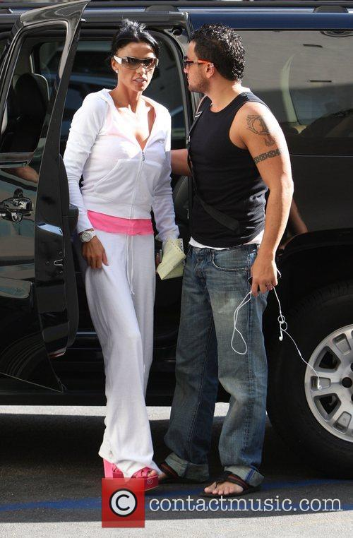 Katie Price and husband Peter Andre 4