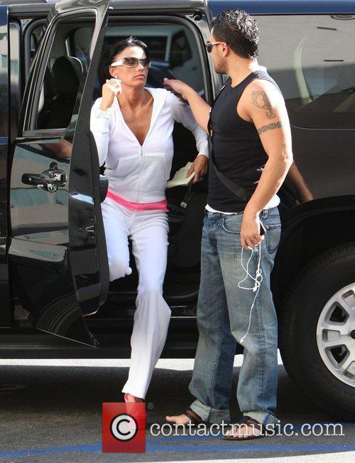 Katie Price and husband Peter Andre 5