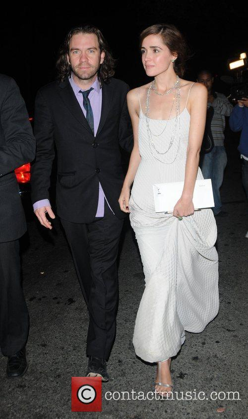 rose byrne and brendan cowell. Actress Rose Byrne with