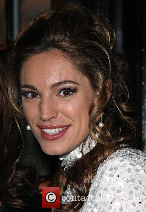 Kelly Brook at the opening of Rouge London,...