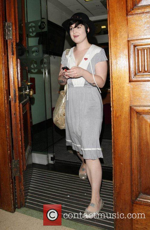 Leaving Radio 1 after presenting her show 'The...