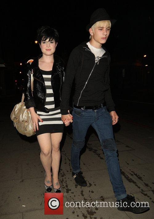 Kelly Osbourne and Boyfriend Luke Howell 9