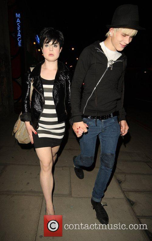 Kelly Osbourne and Boyfriend Luke Howell 5
