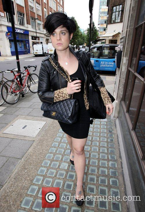 Kelly Osbourne arriving at Radio 1 London, England