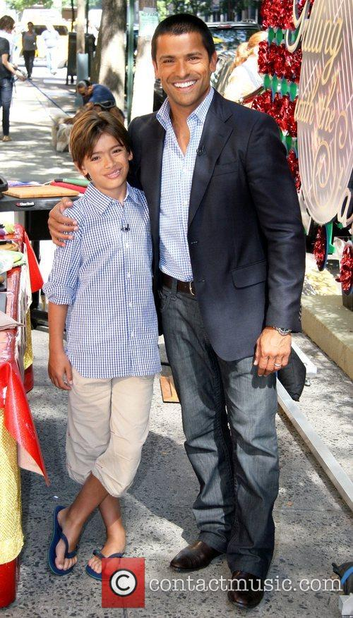 Mark Consuelos and Michael Consuelos 2