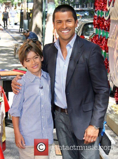 Michael Consuelos and Abc 4