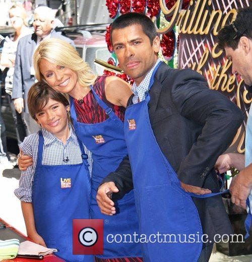 Michael Consuelos, Abc and Kelly Ripa 3