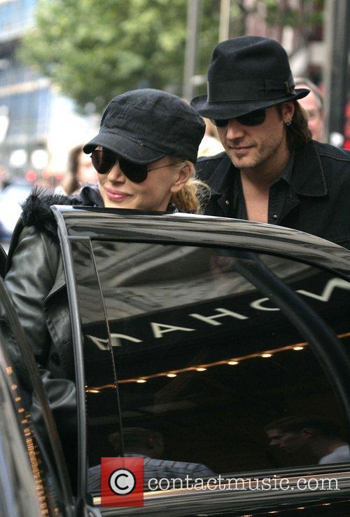 Nicole Kidman and Keith Urban leaving the Wyndham's...