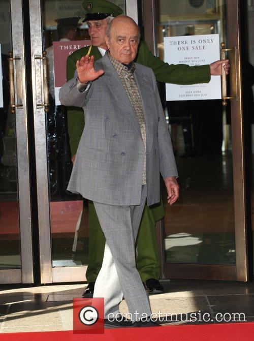 Mohamed Al Fayed Harrods Summer Sale held at...