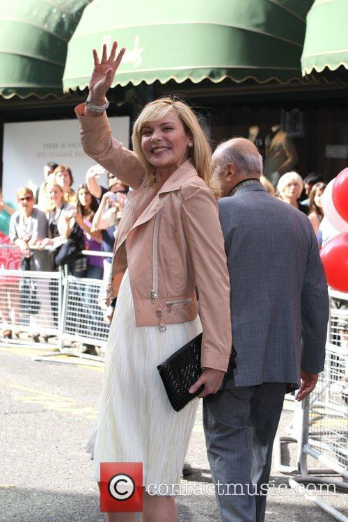 Mohamed Al Fayed and Kim Cattrall Harrods Summer...