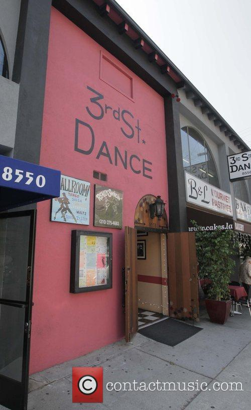 3rd Street Dance Studio where Kim Kardashian is...