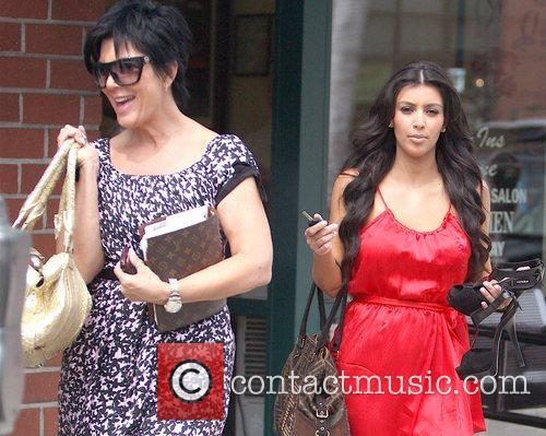 Kim Kardashian and Her Mother Kris Jenner 5