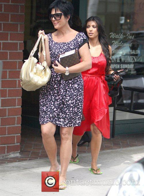 Kim Kardashian and Her Mother Kris Jenner 6