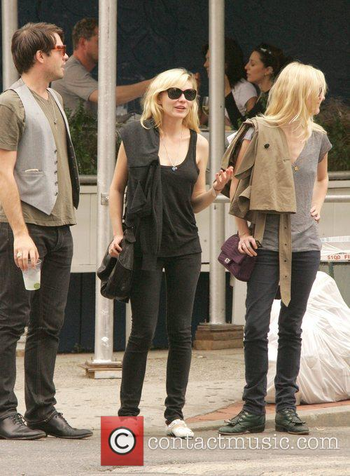 Kirsten Dunst out and about with friends in...