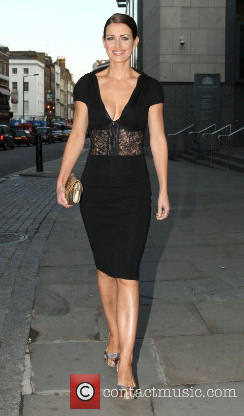 Kirsty Gallagher makes her way to the GQ...