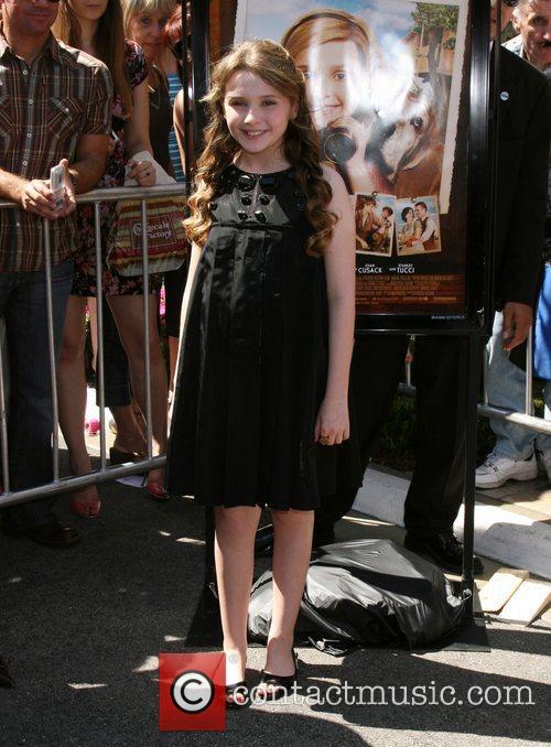 Abigail Breslin Premiere of Kit Kittredge held at...