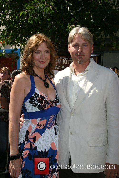 Glenne Headley with her husband  Premiere of...