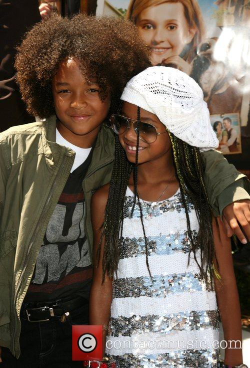 Jaden Smith and Willow Smith Premiere of Kit...