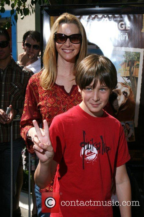 Lisa Kudrow and son Premiere of Kit Kittredge...