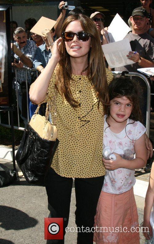 Rachel Bilson with her sister Premiere of Kit...
