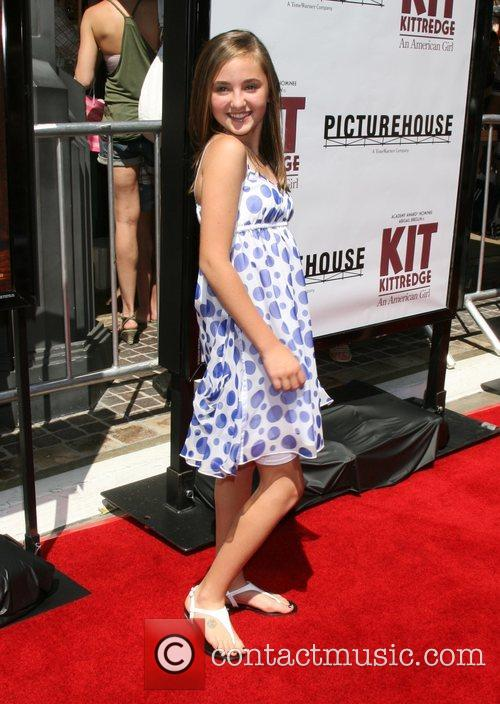 Rachel Fox Premiere of Kit Kittredge held at...