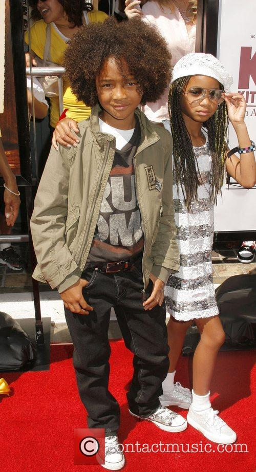 Jaden Smith and sister Willow Smith Los Angeles...