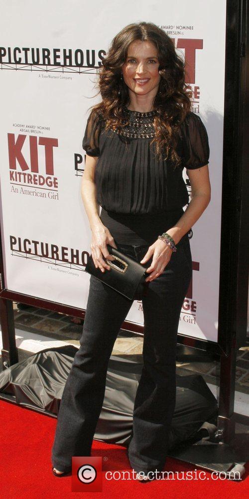 Julia Ormond Los Angeles premiere of 'Kit Kittredge:...