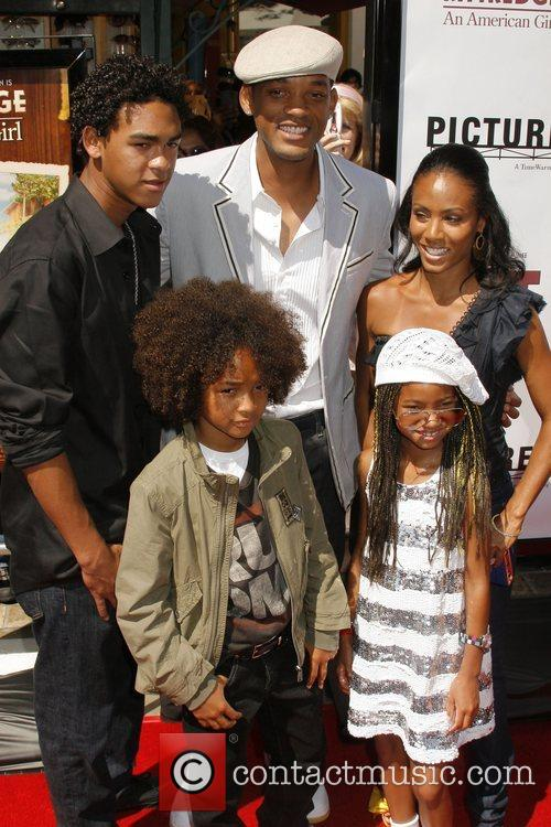 Will Smith, Jada Pinkett Smith and their children 1