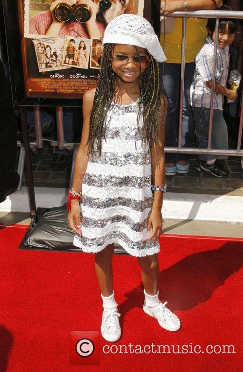 Willow Smith Los Angeles premiere of 'Kit Kittredge:...