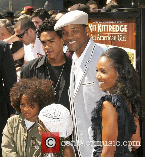 Will Smith, Jada Pinkett Smith, Jaden Christopher Syre Smith, Willard Smith Iii and Willow Smith 4