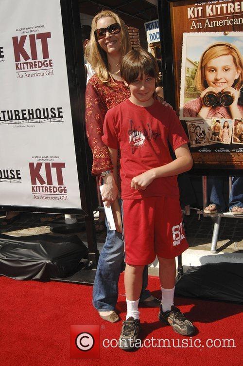 Lisa Kudrow with son Julian Los Angeles premiere...