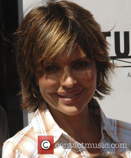 Lisa Rinna and family Los Angeles premiere of...