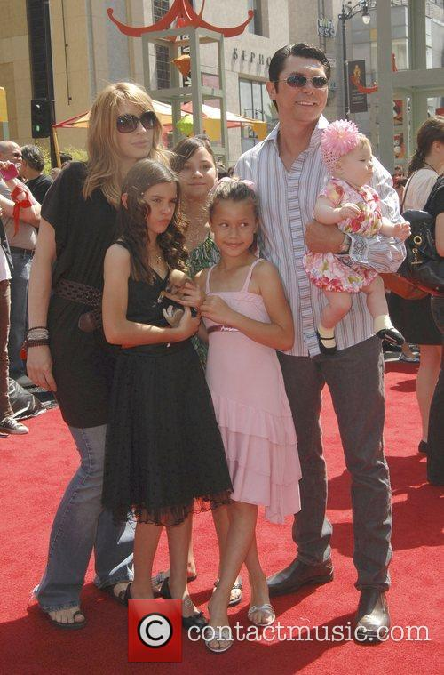 Lou Diamond Phillips and Family 3