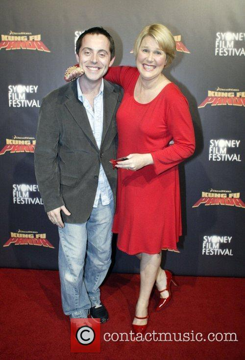 Dan Thomas and Julia Morris Premiere of 'Kung...