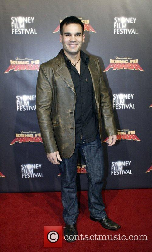 Daniel Amalm Premiere of 'Kung Fu Panda' at...