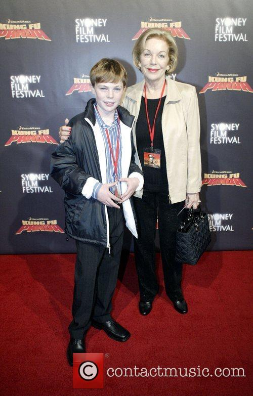 Ita Buttrose Premiere of 'Kung Fu Panda' at...