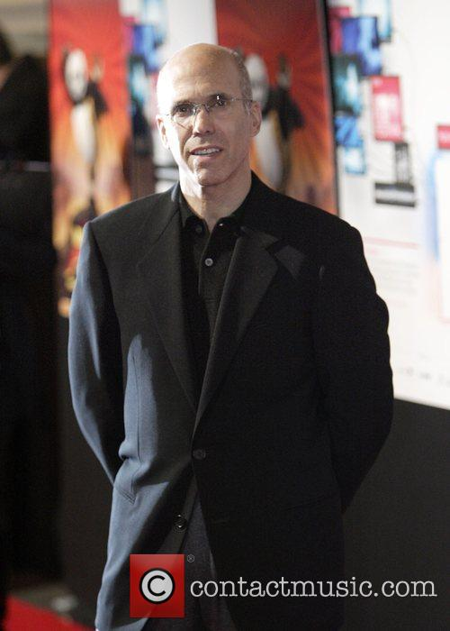Jeffrey Katzenberg Premiere of 'Kung Fu Panda' at...