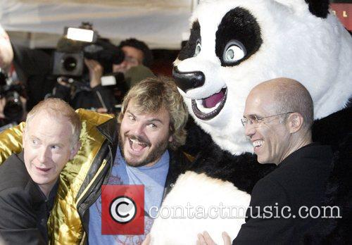 John Stevenson, Jack Black, Po the Panda and...